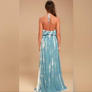 Lulu's Dresses - New w/Tags! Lulu's IN A DAYDREAM TIE-DYE DRESS